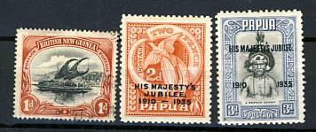 Briefmarken Papua und Papua Neuguinea