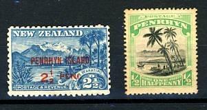 Briefmarken Penrhyn