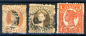 Briefmarken Queensland