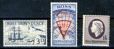Briefmarken Ross Gebiet
