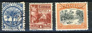 Briefmarken Samoa