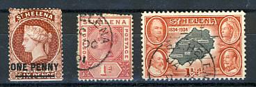 Briefmarken Sankt Helena
