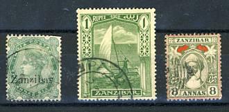 Briefmarken Sansibar