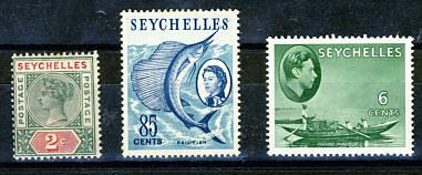 Briefmarken Seychellen
