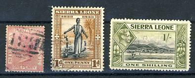 Briefmarken Sierra Leone