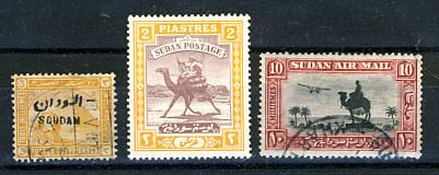 Briefmarken Sudan