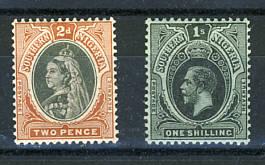 Briefmarken Südnigeria