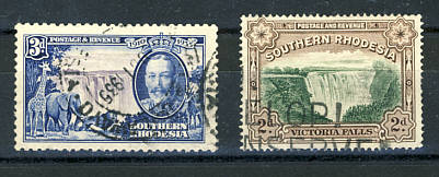 Briefmarken Südrhodesien