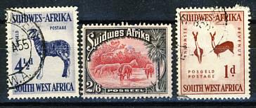 Briefmarken Südwestafrika