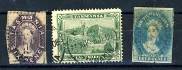 Briefmarken Tasmanien