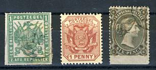 Briefmarken Transvaal
