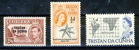 Briefmarken Tristan da Cunha