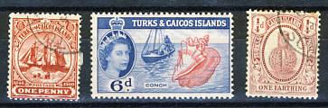 Briefmarken Turks und Caicos Inseln