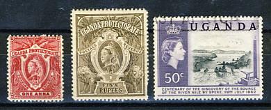 Briefmarken Uganda