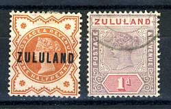 Briefmarken Zululand