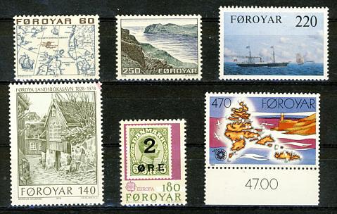 Briefmarken Färöer