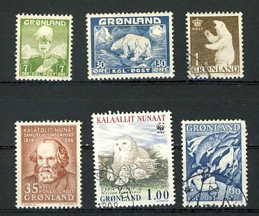 Briefmarken Grönland