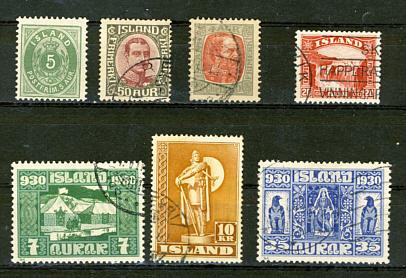 Briefmarken Island