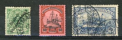 Briefmarken Deutsch-Südwestafrika