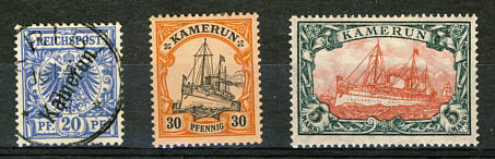 Briefmarken Deutsch-Kamerun