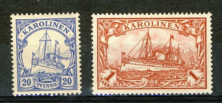 Briefmarken Karolinen