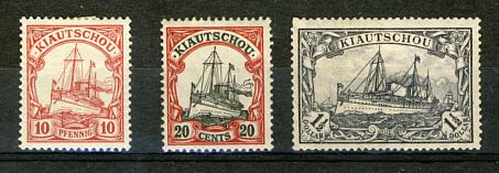 Briefmarken Kiatschou