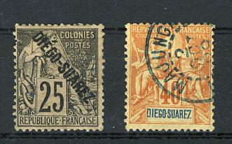 Briefmarken Diégo Suarez