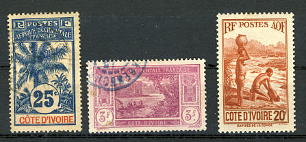 Briefmarken Elfenbeinküste