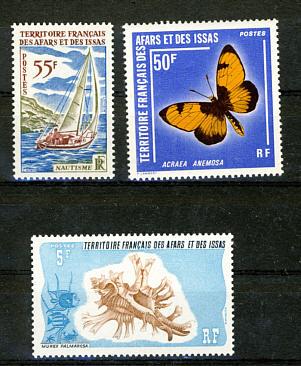 Briefmarken Französisch Afar und Issa