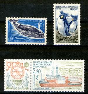 Briefmarken Französische Gebiete in der Antarktis
