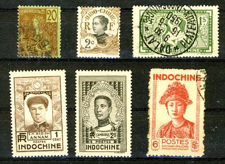 Briefmarken Französisch Indochina