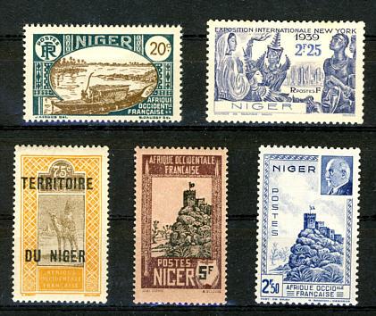 Briefmarken Französisch Niger