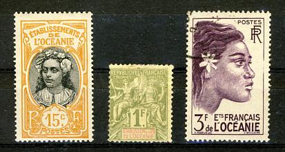 Briefmarken Französisch Ozeanien