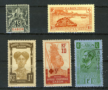 Briefmarken Gabun