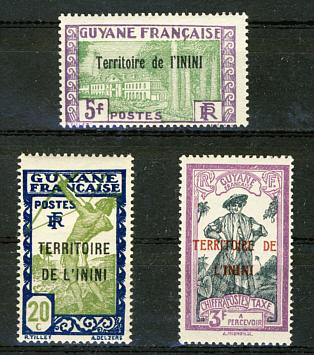 Briefmarken Inini