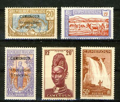 Briefmarken Kamerun