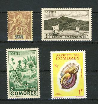 Briefmarken Komoren