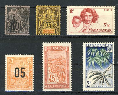 Briefmarken Madagaskar
