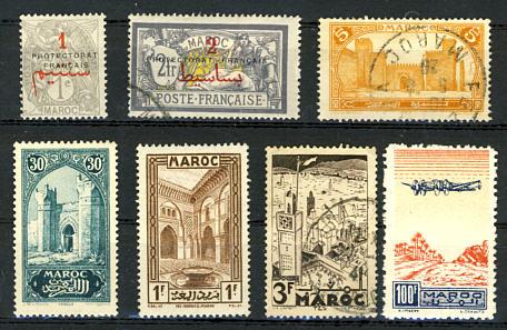 Briefmarken Marokko