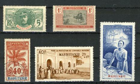 Briefmarken Mauretanien