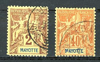 Briefmarken Mayotte