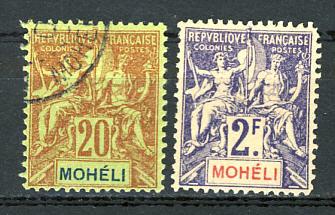 Briefmarken Moheli