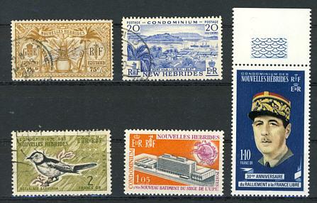 Briefmarken Neue Hebriden