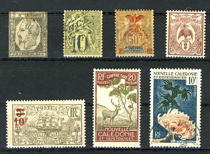 Briefmarken Neukaledonien