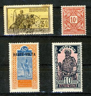 Briefmarken Obervolta