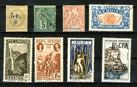 Briefmarken Reunion