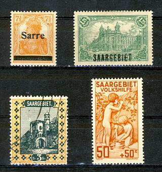 Briefmarken Saargebiet