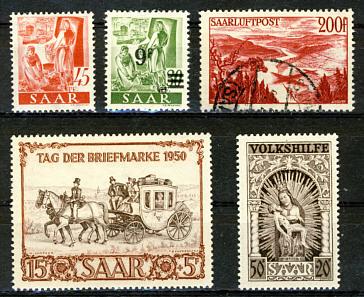 Briefmarken Saarland