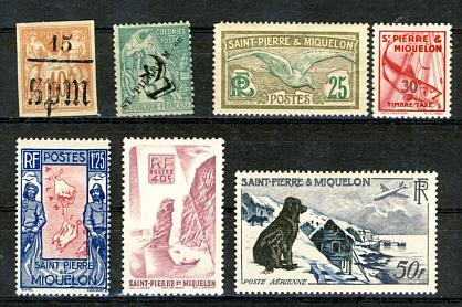 Briefmarken St. Pierre und Miquelon