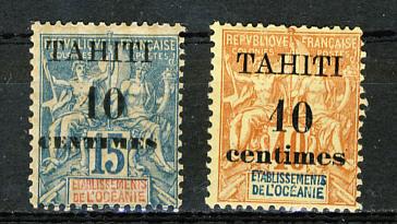 Briefmarken Tahiti